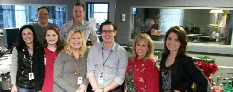 WGN Radio newsroom team