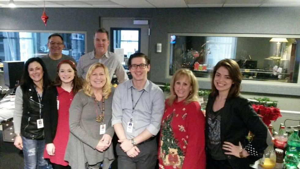 WGN Radio newsroom team