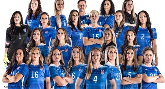 U.S. Women's National Soccer Team, 2015.