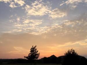 Lake City, Minnesota sunset.